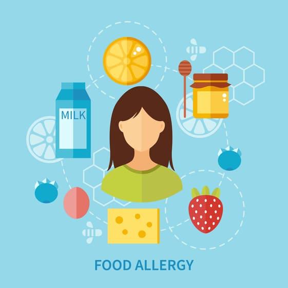 как отличить пищевую аллергию