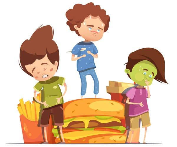 харчування після отруєння